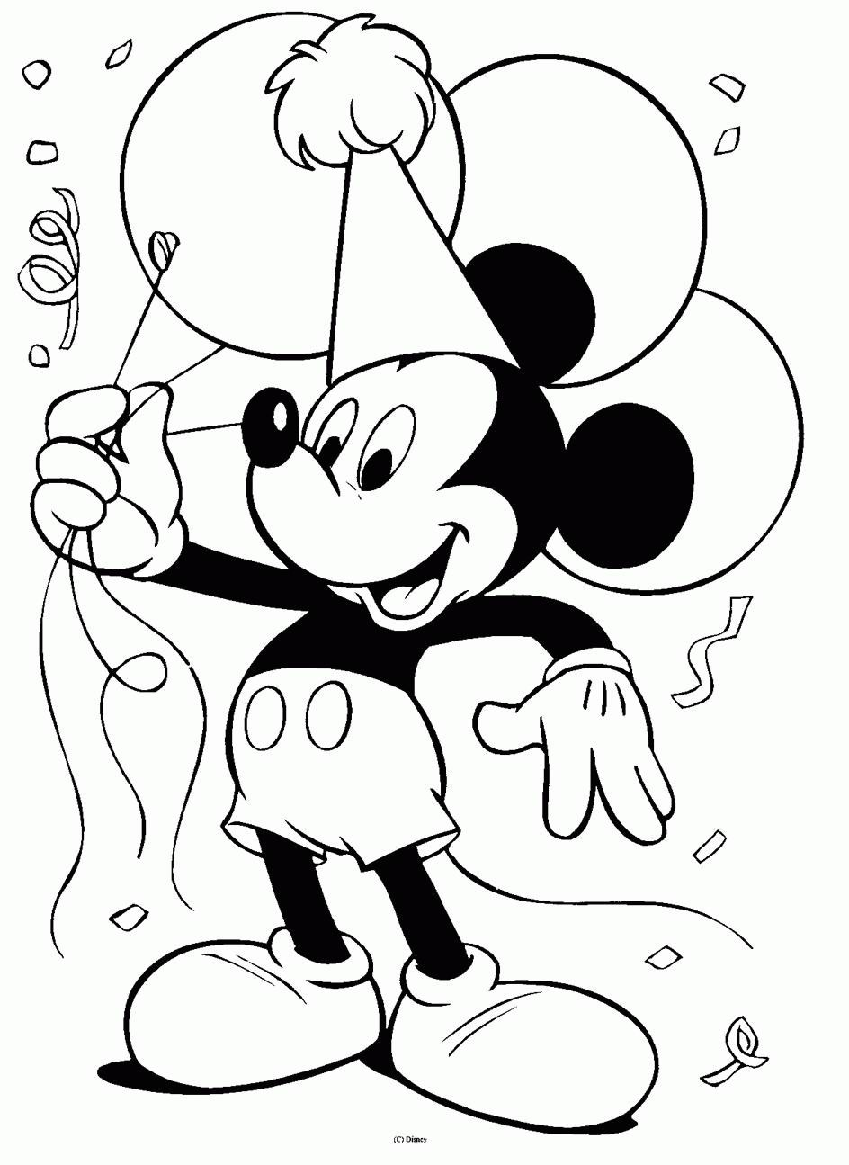 Ultimate Pictures Mix Disney Coloring Pages
