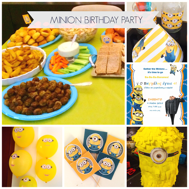 Ioanna's Notebook - Minion Birthday Party (Part 3) - Dessert & Drink recipes