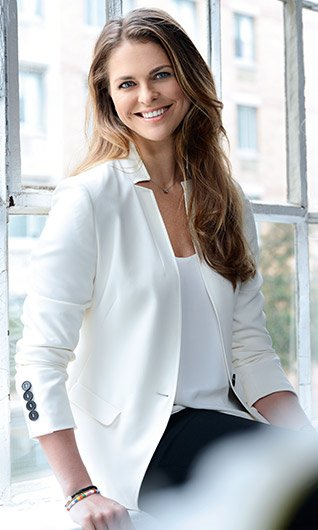 Princess Madeleine of Sweden has recently done an interview and photoshoot with Oriflame
