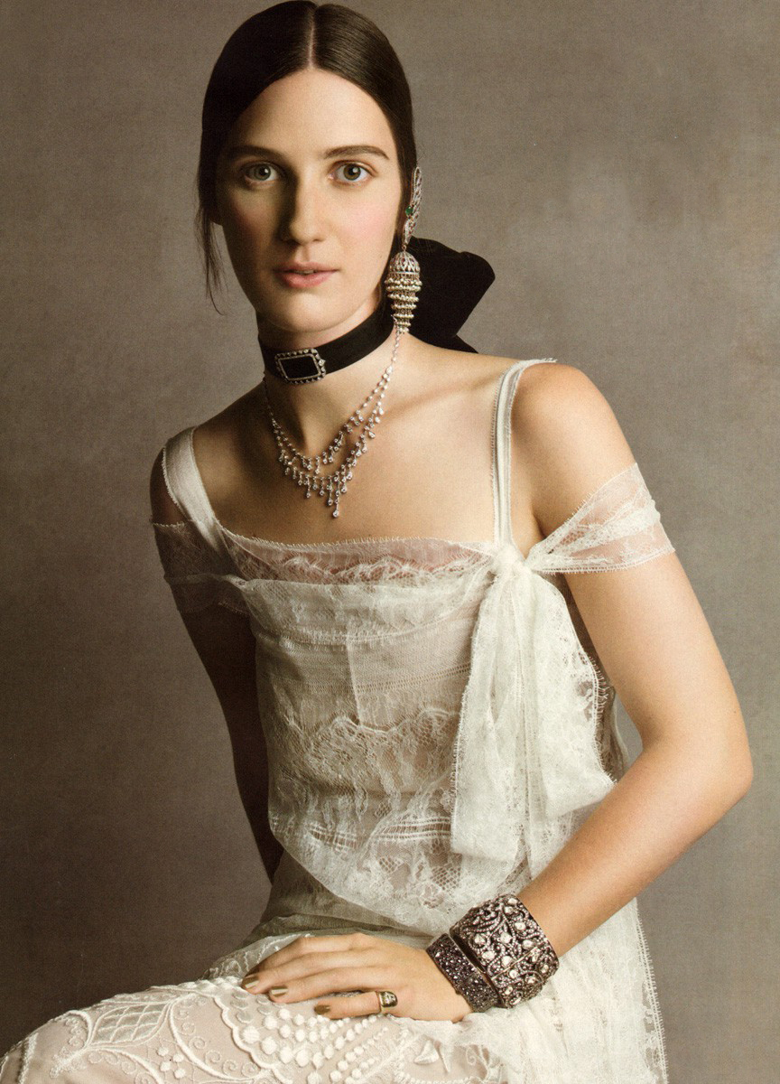 Vogue US October 2011 / Alberta Ferretti