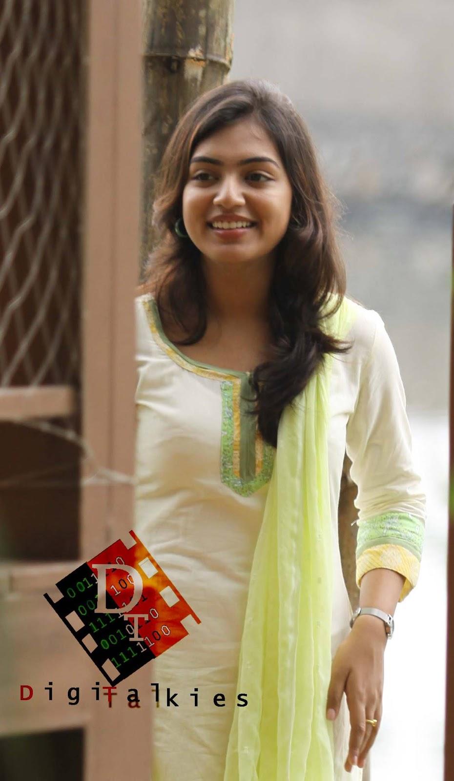 nazriya nazim latest cute and hot photos in churidar