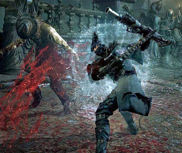 Bloodborne ensina que matar sadicamente é uma diversão.