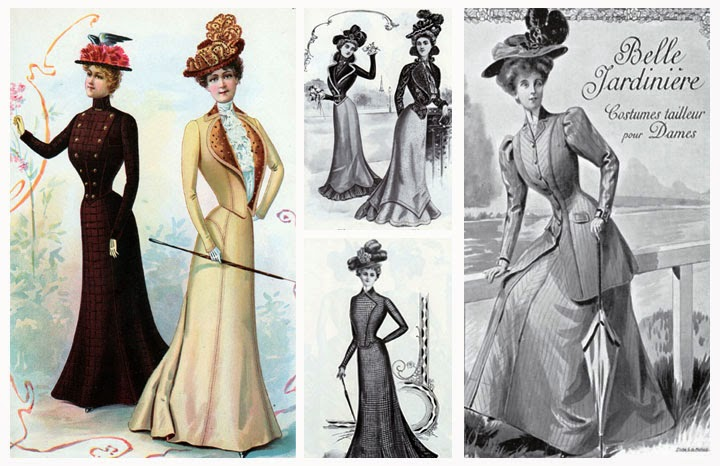 La Belle Epoca datos e Indumentaria (1890-1920)   Decadas de Moda