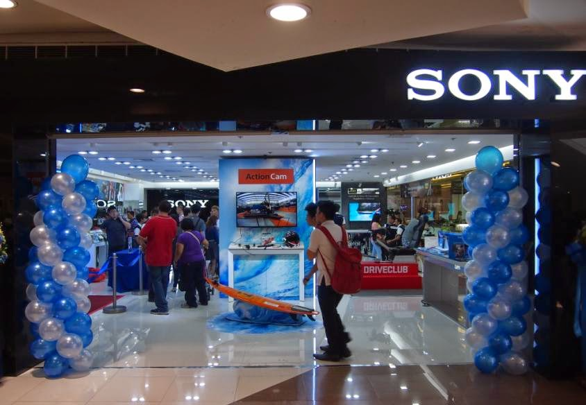 Sony Philippines Opened Flagship Store in SM Megamall