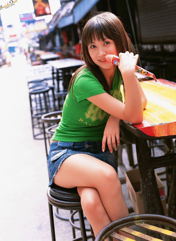 Stylish Model Ayaka Komatsu — Beautiful And Amazing Photo Gallery