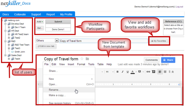 how to change ownership on google slides