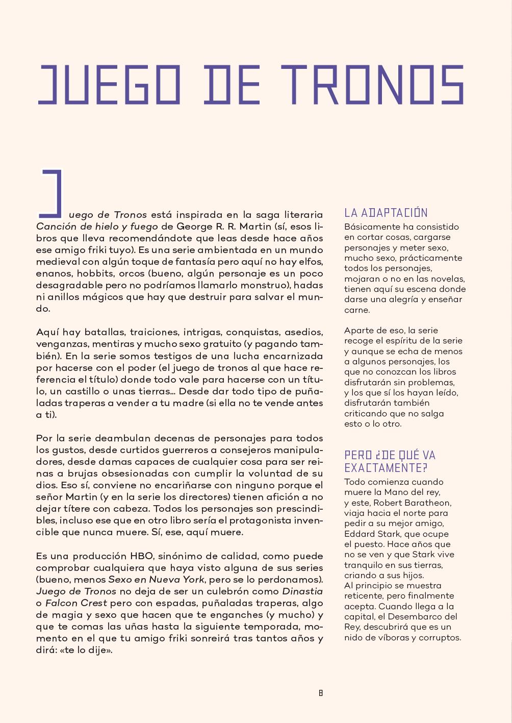 #LibrosPop: En Capitulos Anteriores - Josep Busquet y David García Vivancos (Diabolo Ediciones)