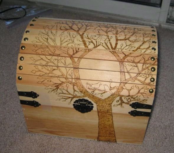 Wooden Chest design