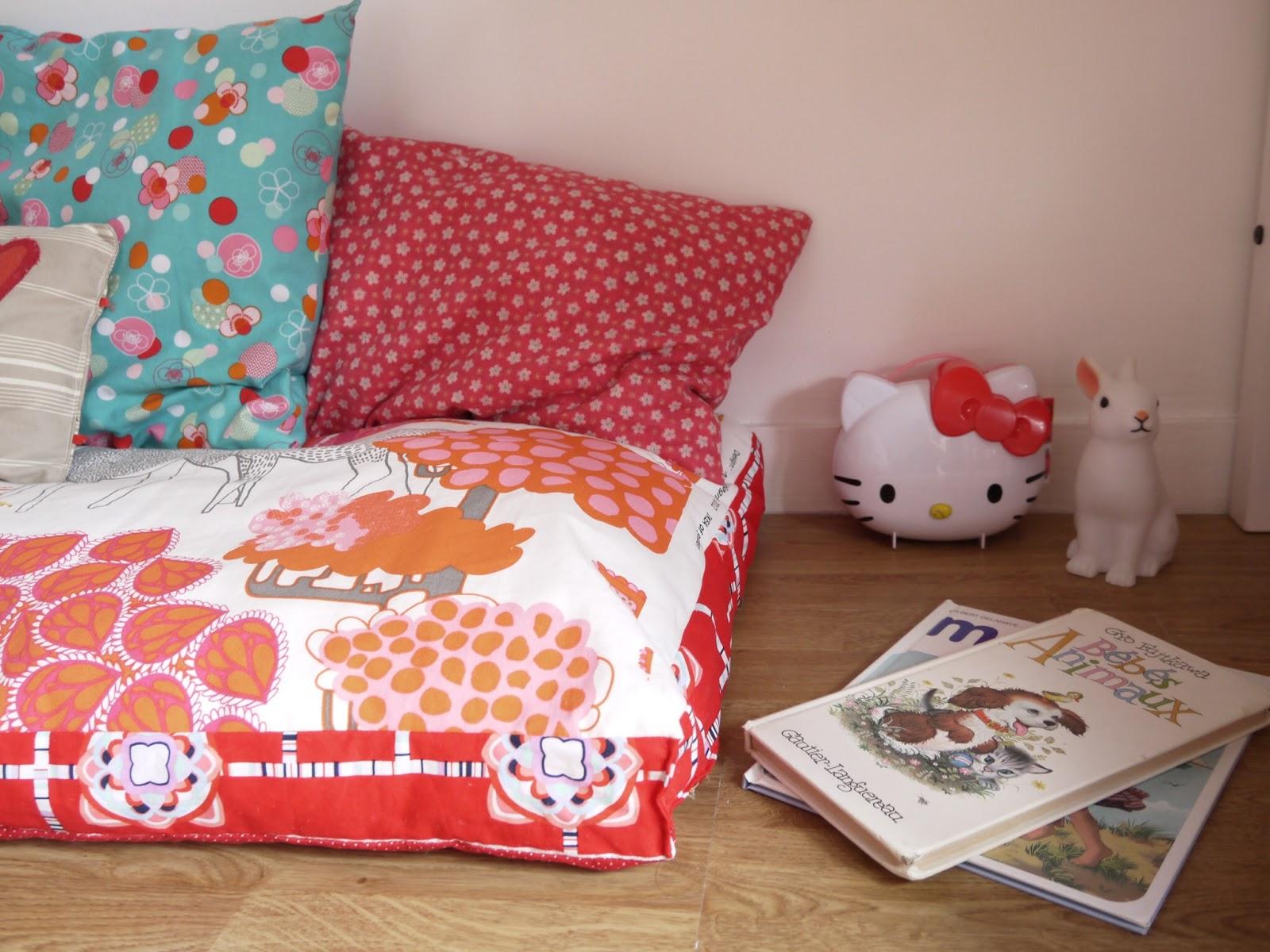 coin lecture décoration chambre enfant
