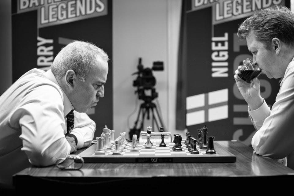 Kasparov - Short.  Chess Club and Scholastic Center of Saint Louis