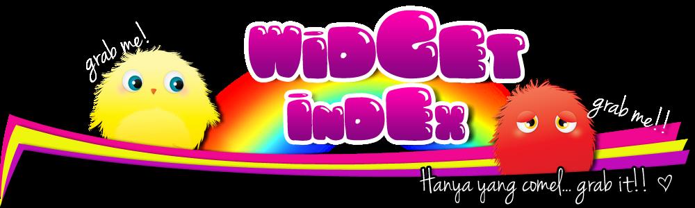 widget comel untuk blog anda! ^___^
