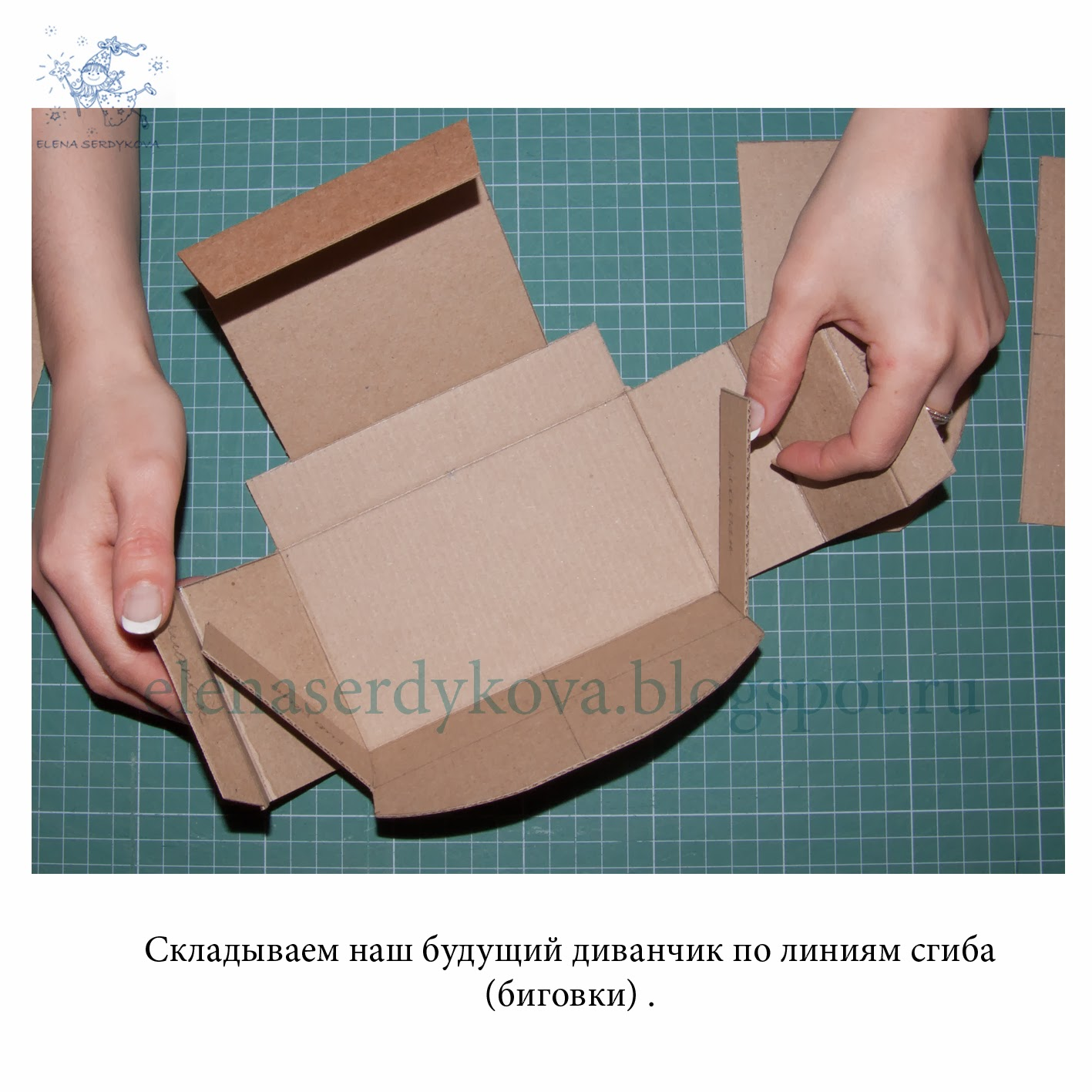 Биговка картона своими руками