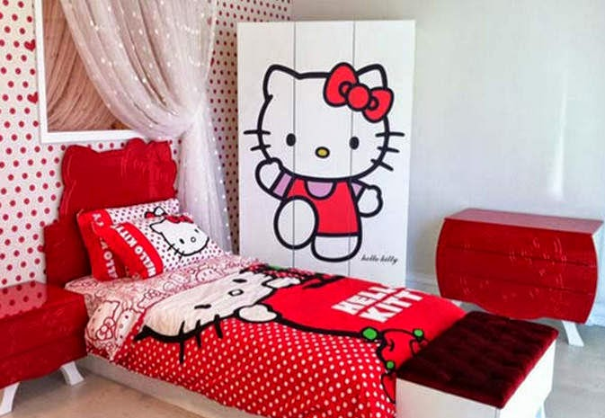 Desain interior hello kitty