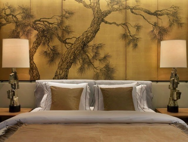Mural wall paint ideas for Wallpaper and paint ideas for bedroom