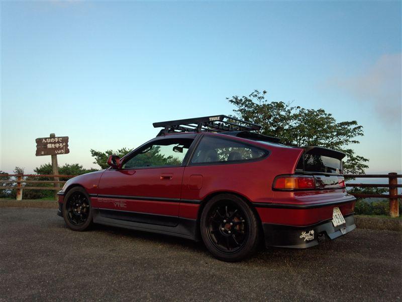 Honda CR-X ホンダ, 日本車, チューニングカー, スポーツカー