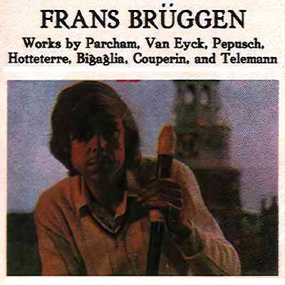 Frans Brüggen - Jacques Martin Hotteterre Jacques Hotteterre Jacques Hotteterre Premier Flutiste Francais