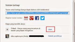 Mengubah Akses File Menjadi Public di Google Drive