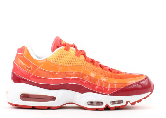 The Torch\\u0026#39;s Nike Air Max 95 - Deep Red/