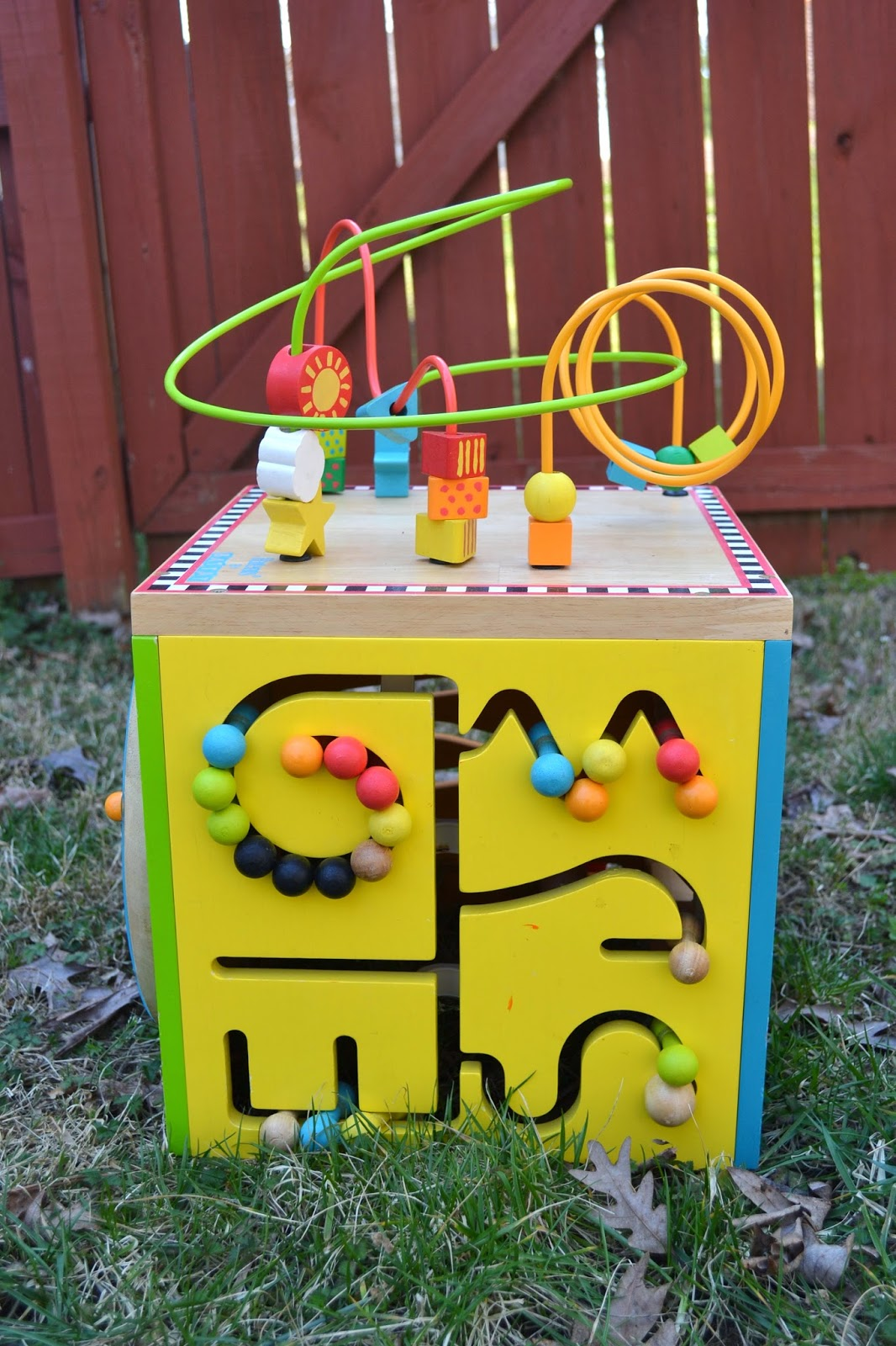 Baby and Kid Stuff For Sale: Wooden Roller Coaster Bead Maze - SOLD