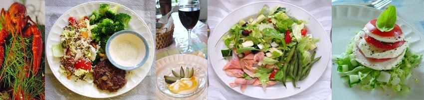 Laalin laihdutus ja muutakin ruoka-asiaa