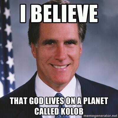 romney mormon  meme