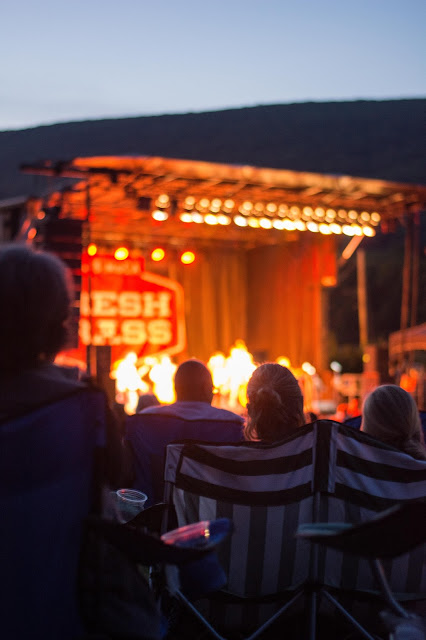 Fresh Grass review, bluegrass music, North Adams