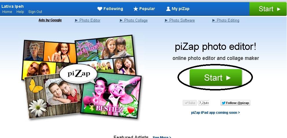 Pizap Photo Editor Online