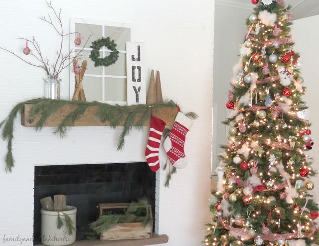 Christmas Home Tour - Family and the Lake House