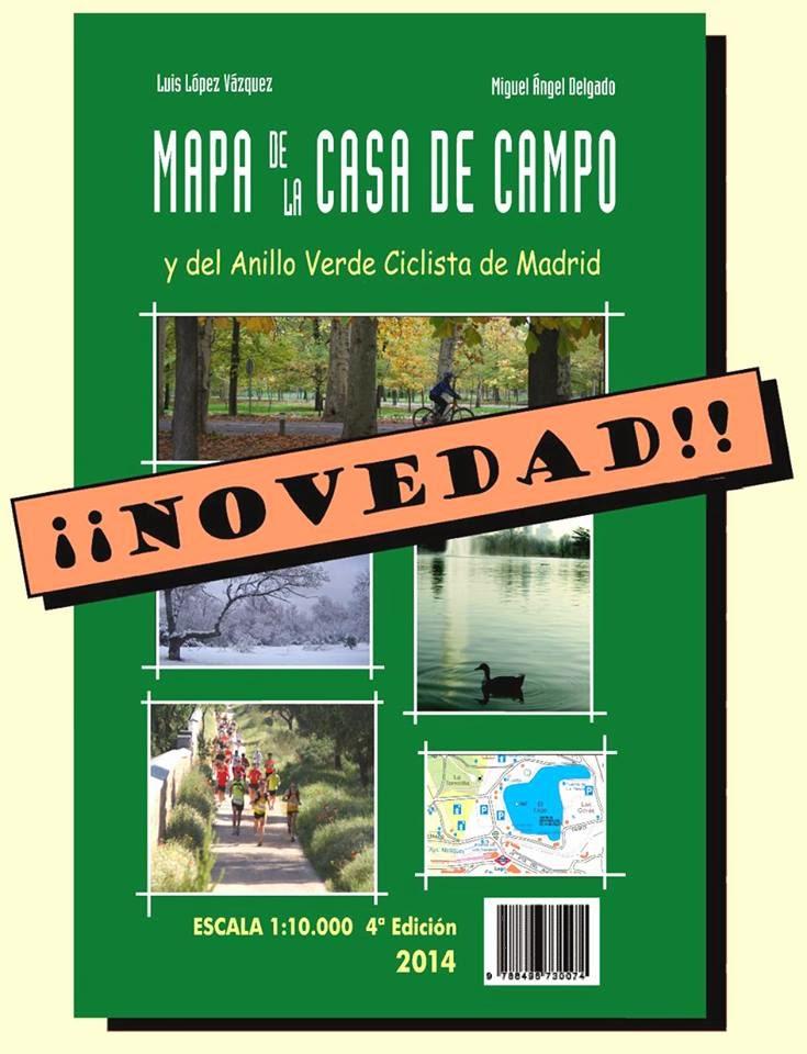 Mapa de la casa de campo cuarta edici n 2014 mtbymas - Mapa de la casa de campo ...