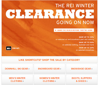 Click to view this Feb. 11, 2011 REI email full-sized