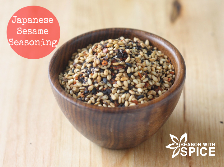 Japanese Sesame Seasoning (gomashio) available at SeasonWithSpice.com