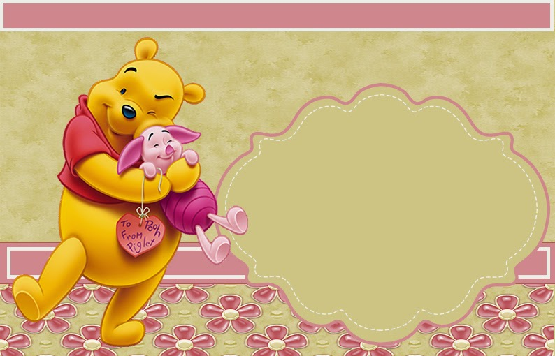 Winnie Pooh Invitations for amazing invitations example