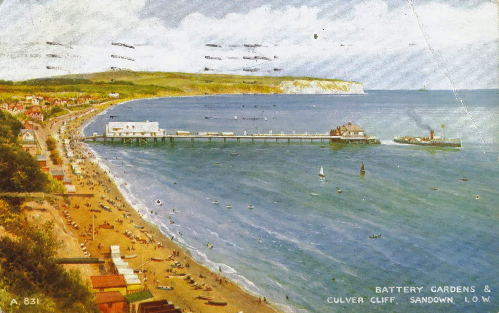 Battery Gardens & Culver Cliff, Sandown, I.O.W.