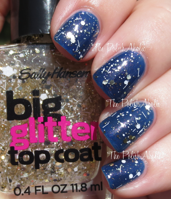 The PolishAholic: Sally Hansen Big Top Coat Collection Swatches & Review