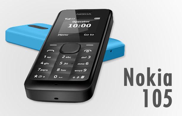 Nokia 105 HP baterai kuat