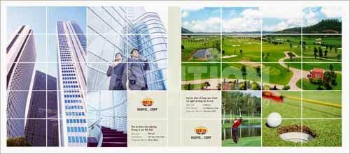 Thiết kế catalogue tập đoàn HUB group