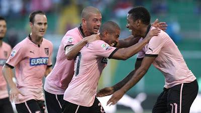 Palermo-Cagliari 1-1 highlights