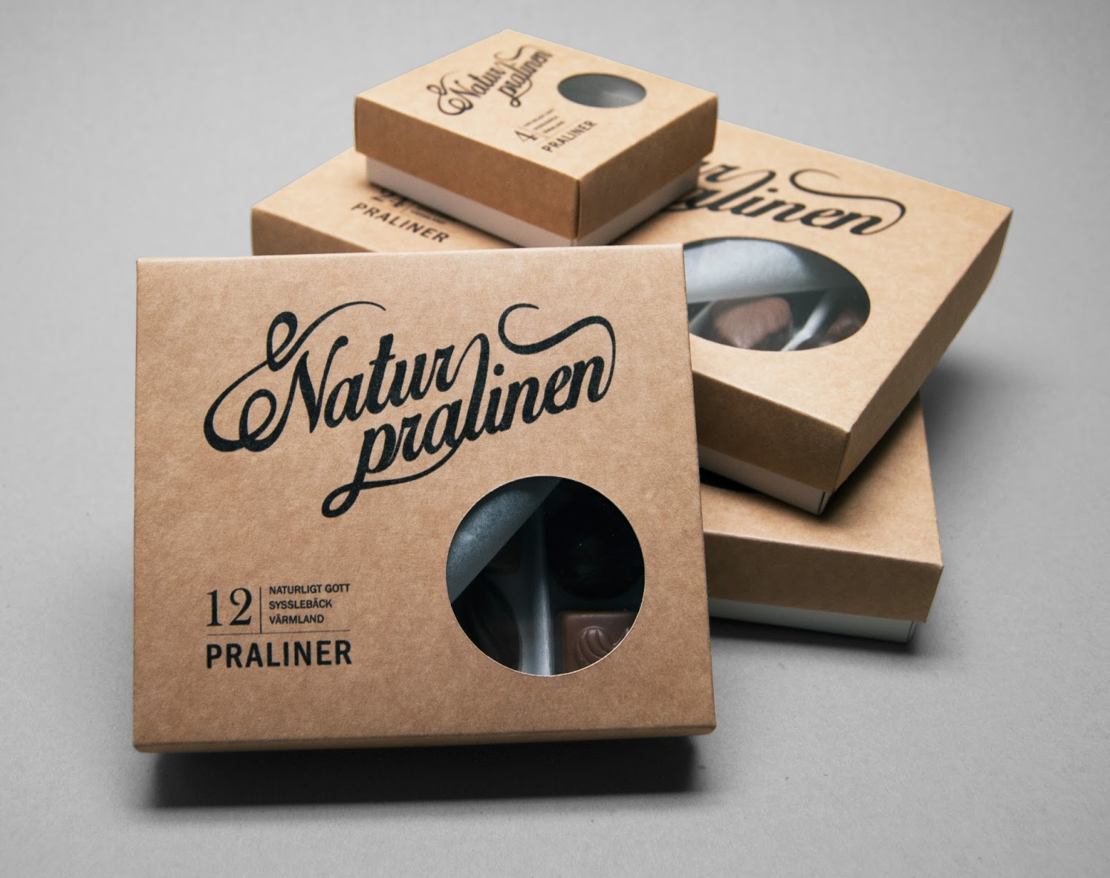 Super Naturpralinen (Student Project) on Packaging of the World  AE77