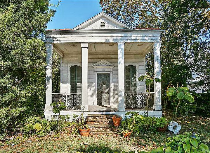 house of the week greek revival cottage on moss street - Greek Revival Cottage