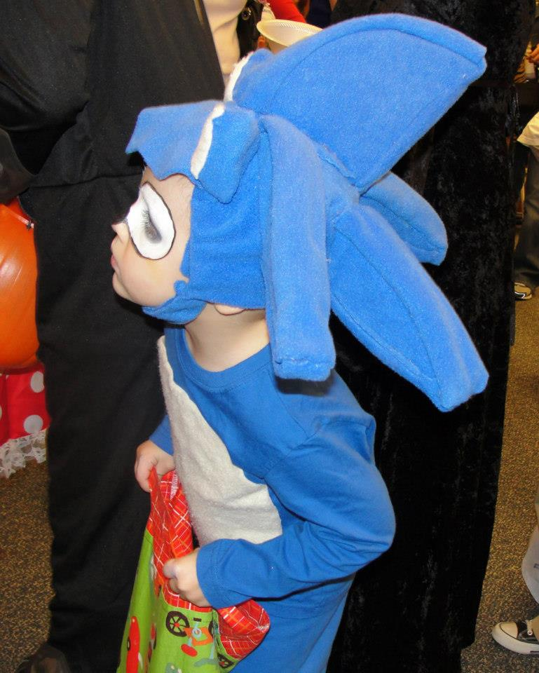 Sonic Hedgehog Halloween Costume Sonic Halloween Costumes Kids