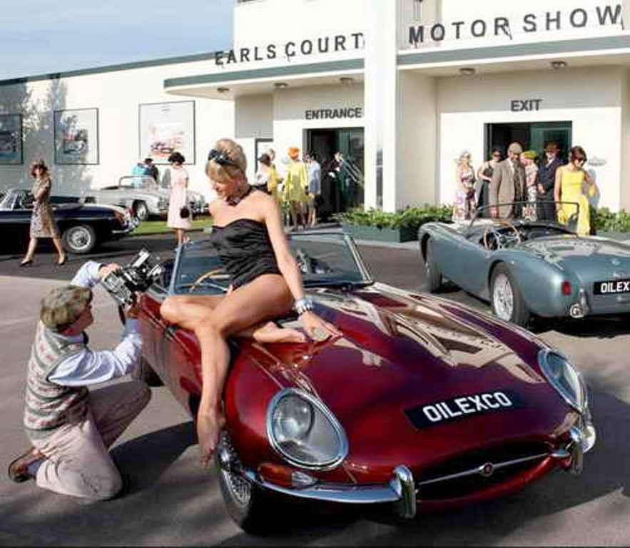 Retrospace Vintage Wheels 12 Car Show Honeys