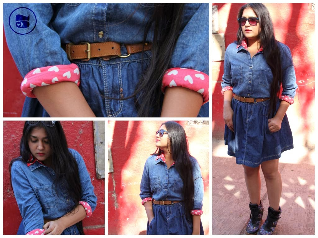 heartprint shirt hearts heartprintfashion head2heels denim