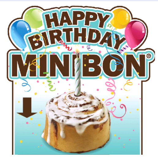FREE IS MY LIFE: COUPON: FREE MiniBon At Cinnabon Mall