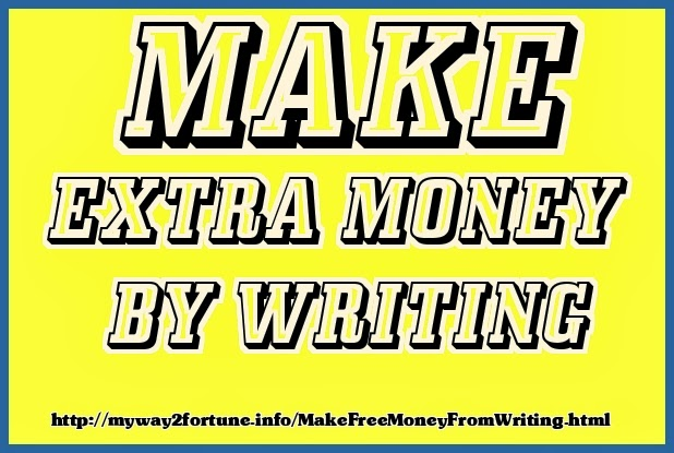 make easy extra money from your writing