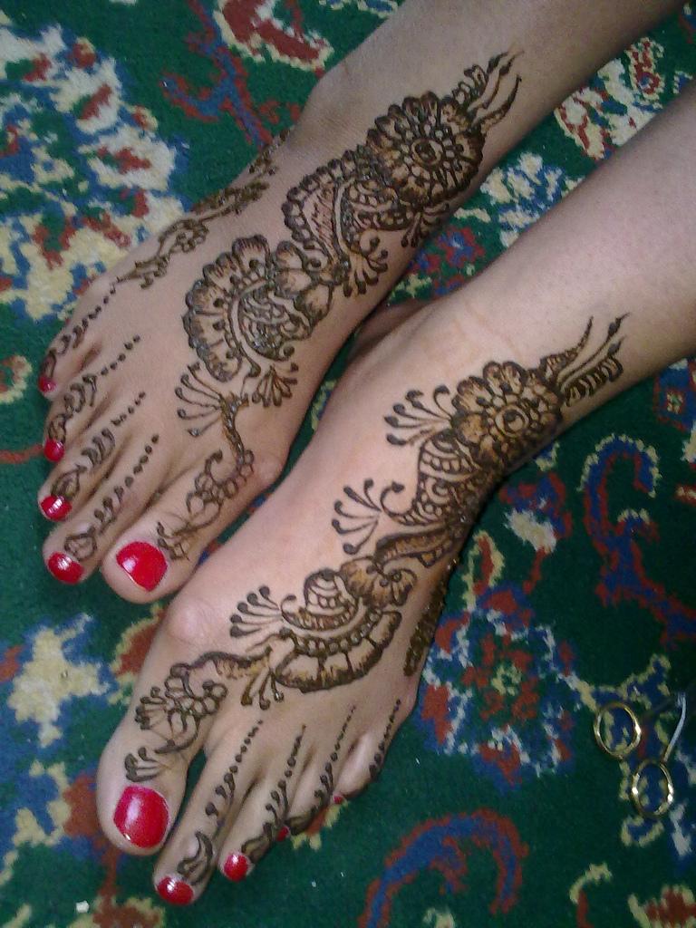Nice Mehndi Patterns : Mehndi style new nice eid designs