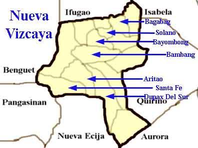 Vizcaya Mapa Ciudad de la Región