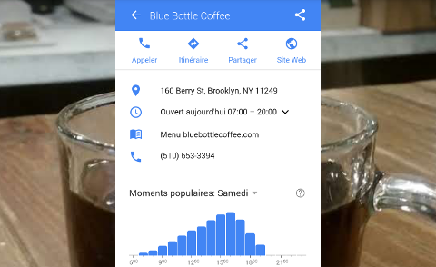 Affluence Blue Bottle Coffee