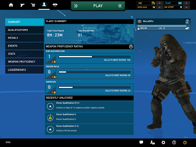 Ghost Recon Online - Class Summary