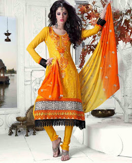 Yellow Anarkali Suits Online