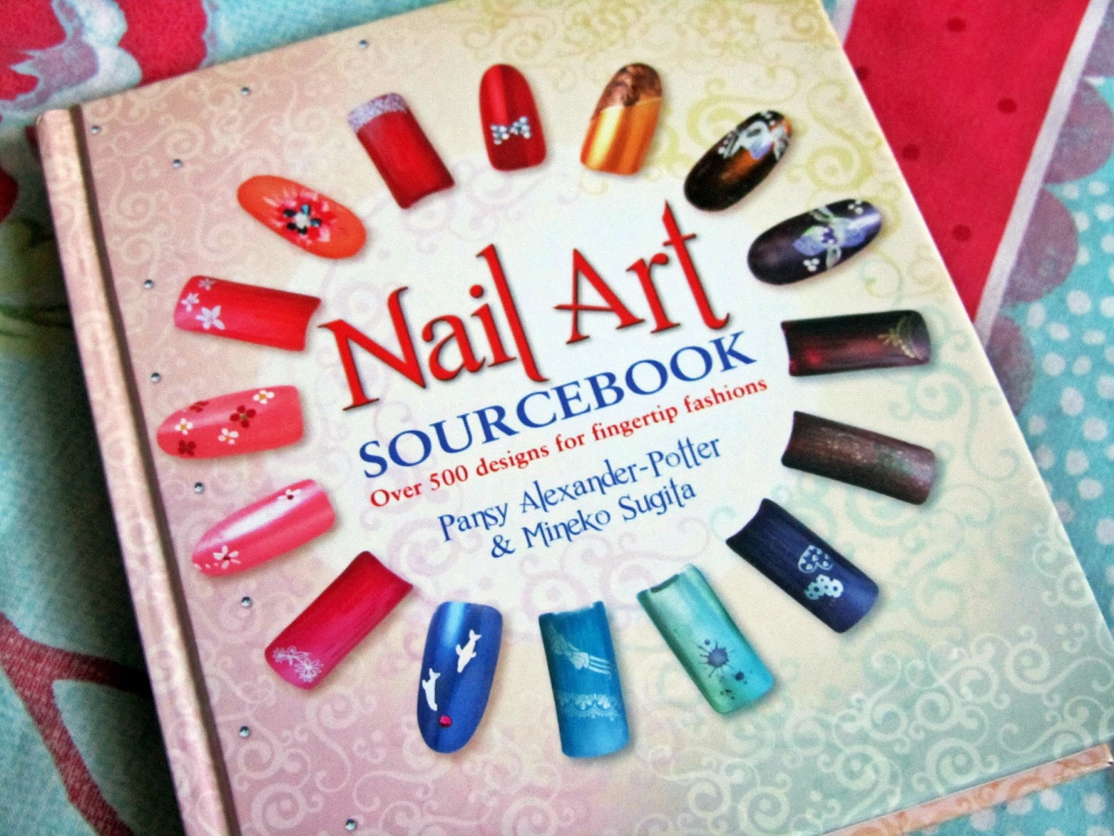 The Nail Art Sourcebook Review   Polka Spots and Freckle Dots